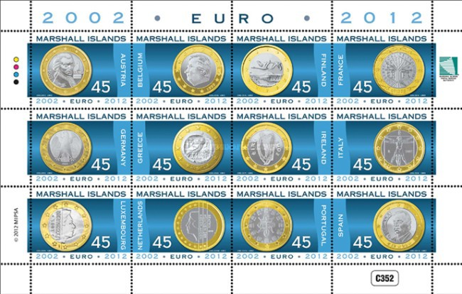 [The 10th Anniversary of the Euro, Typ ]