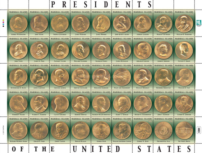 [Coins - Presidents of the United States, Typ ]