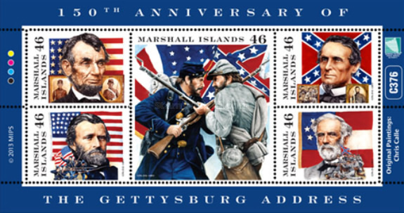 [The 150th Anniversary of the Gettysburg Address, Typ ]