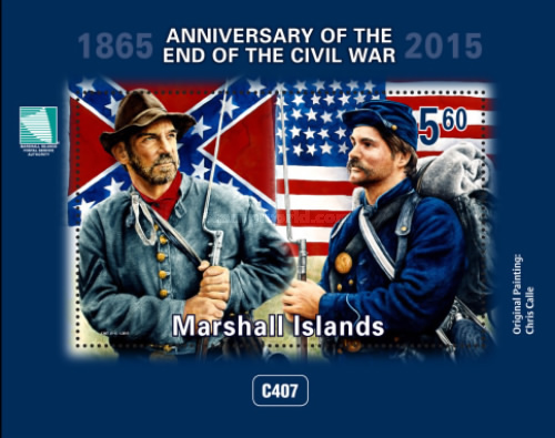 [The 150th Anniversary of the End of the U.S. Civil War, Typ ]