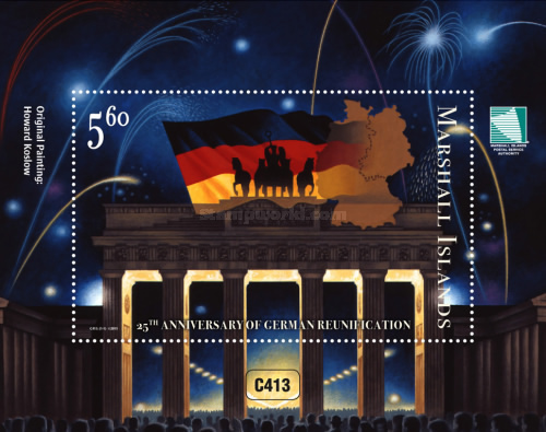 [The 25th Anniversary of German Reunification, Typ ]