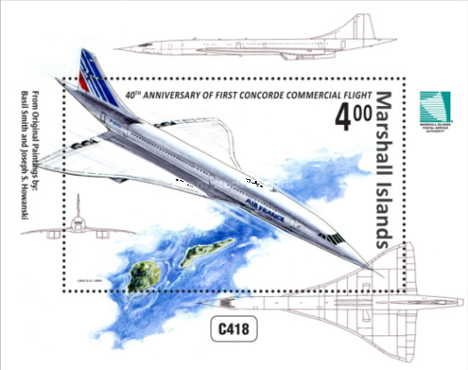 [The 40th Anniversary of the First Concorde Commercial Flight, Typ ]