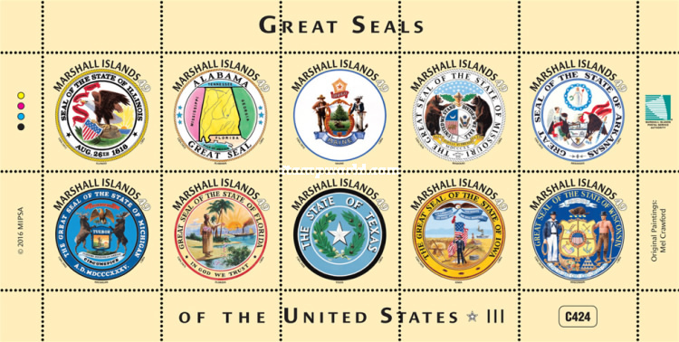 [Great Seals of the United States, Typ ]