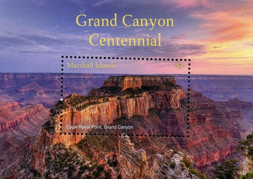 [The 100th Anniversary (2019) of the Grand Canyon National Park, Typ ]
