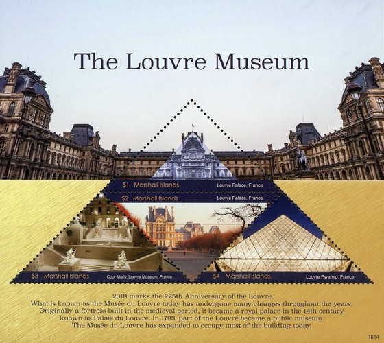 [The 225th Anniversary of the Louvre Museum - Paris, France, Typ ]