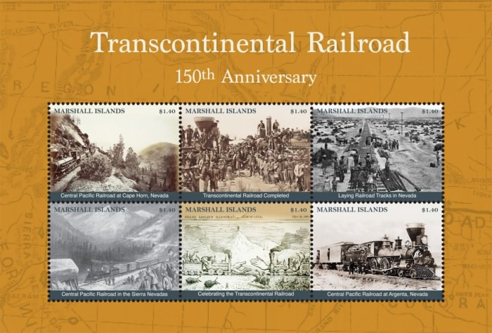 [The 150th Anniversary of the Union Pacific Transcontinental Railroad, Typ ]