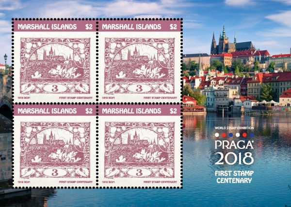 [Specialized World Stamp Exhibition PRAGA 2018 - The 100th Anniversary of the First Czechoslovakian Stamp, Typ ]