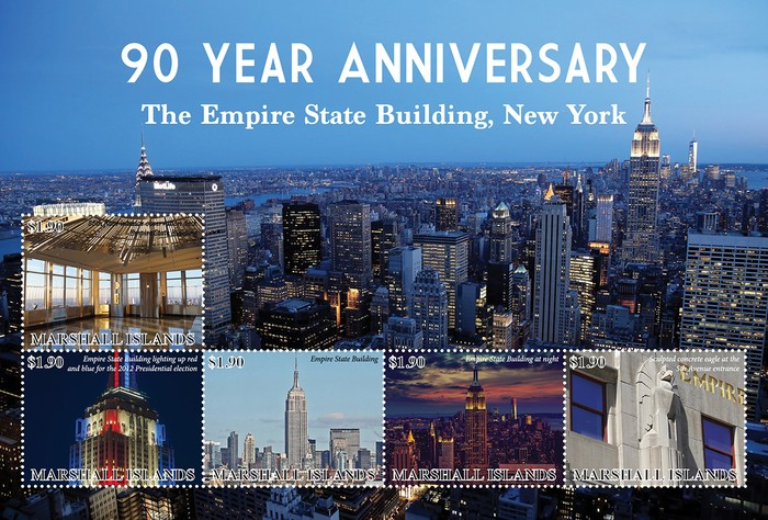 [The 90th Anniversary of the Empire State Building, type ]