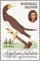 [Airmail - Birds - The 200th Anniversary of the Birth of John J. Audubon, 1785-1851, Typ AG]