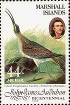[Airmail - Birds - The 200th Anniversary of the Birth of John J. Audubon, 1785-1851, Typ AH]