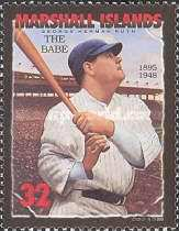 [The 50th Anniversary of the Death of Babe Ruth - Baseball Player, 1896-1948, Typ ALM]