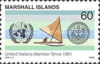 [The 12th Anniversary of the Marshall Islands Membership of United Nations, Typ BLX]