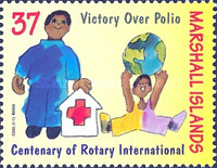 [The 100th Anniversary of the Rotary International, Typ BUZ]