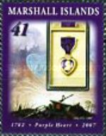 [The 225th Anniversary of the Purple Heart, Typ CCP]