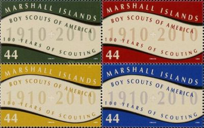 [The 100th Anniversary of the Boy Scouts of America, Typ CSZ]