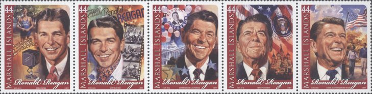 [The 100th Anniversary of the Birth of Ronald Reagan, 1911-2004, Typ CYL]