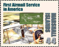 [First in Flight - The 100th Anniversary of the First Airmail Flight, Typ CYN]