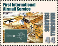 [First in Flight - The 100th Anniversary of the First Airmail Flight, Typ CYQ]