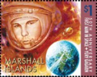 [The 50th Anniversary of the First Manned Space Flight - Yury Gagarin, Typ CZN]