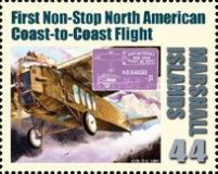 [First in Flight - The 100th Anniversary of the First Airmail Flight, Typ DBX]