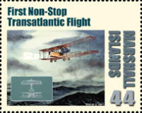 [First in Flight - The 100th Anniversary of the First Airmail Flight, Typ DBY]