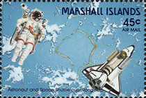 [Airmail - Kwajalein Space Shuttle Tracking Station, Typ GU]