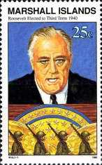 [History of the Second World War - Four Freedoms Speech to U.S. Congress by President Franklin Roosevelt, 1941, Typ LQ]