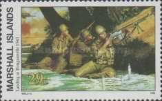 [History of the Second World War - Landing at Bougainville, 1943, Typ RZ]
