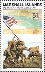[History of the Second World War - U.S. Marine Invasion of Iwo Jima, 1945, Typ UV]