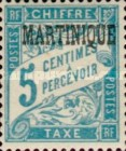 [French Postage Stamps Overprinted, Typ A]