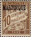 [French Postage Stamps Overprinted, Typ A1]