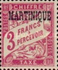 [French Postage Stamps Overprinted, Typ A10]