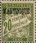 [French Postage Stamps Overprinted, Typ A2]