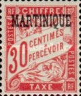 [French Postage Stamps Overprinted, Typ A4]