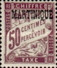 [French Postage Stamps Overprinted, Typ A6]