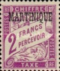 [French Postage Stamps Overprinted, Typ A9]