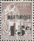 [French Colonies - General Issues No.46-57 Surcharged & Overprinted