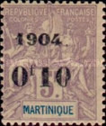 [No. 37-41 & 49 Surcharged & Overprinted