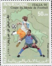 [Airmail - Football World Cup - Italy, type ADZ]