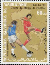 [Airmail - Football World Cup - Italy, type AEA]