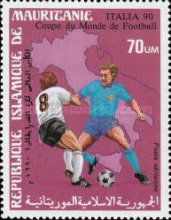 [Airmail - Football World Cup - Italy, type AEB]