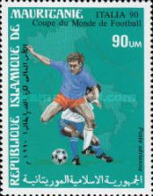 [Airmail - Football World Cup - Italy, type AEC]