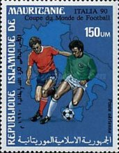 [Airmail - Football World Cup - Italy, type AED]
