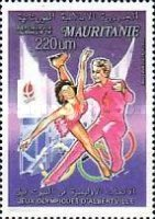 [Airmail - Winter Olympic Games - Albertville, France 1992, type AEW]