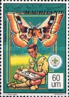 [Scout Movement - Fungi and Butterflies, type AFA]