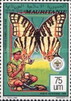 [Airmail - Scout Movement - Fungi and Butterflies, type AFD]