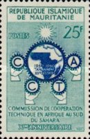 [The 10th Anniversary of African Technical Co-operation Commission, type AZ]