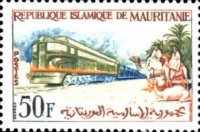 [Iron Ore Railway Train from Zouerate to Port Etienne, type CD]