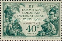 [International Colonial Exhibition, Paris, type F]