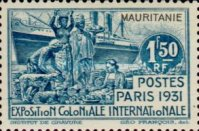 [International Colonial Exhibition, Paris, type I]